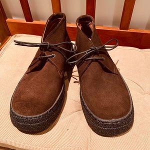 Calvin Klein Perry Chukka Boot Calf Suede 7 1/2 M